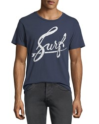 Sol Angeles Surf Graphic Pocket T Shirt Indigo