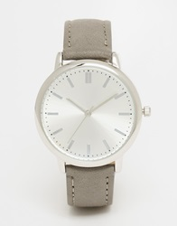 New Look Clean Watch Grey