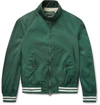 Todd Snyder Barracuda Shell Bomber Jacket Emerald