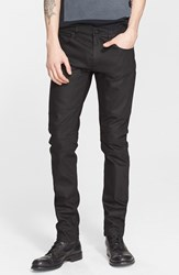 Men's Belstaff 'Elmbridge' Slim Fit Moto Jeans Black
