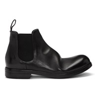 Marsell Black Zucca Media Beatles Boots