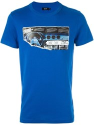 Blood Brother 'Progress' T Shirt Blue