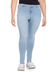 Jessica Simpson Plus Kiss Me Faded Super Skinny Jeans Palace