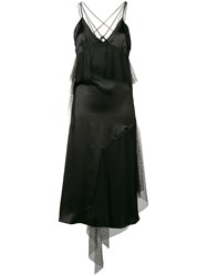 Each X Other Lace Panelled Dress Black
