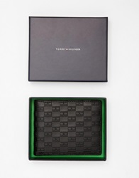 Tommy Hilfiger Tommy Hifliger Thierry Wallet In Leather Black