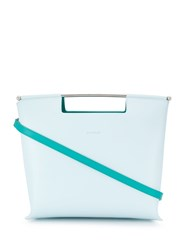 Delpozo Geometric Tote Bag Blue
