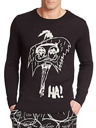Haculla Le Femme Graphic Sweater Black