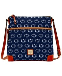 Dooney And Bourke Penn State Nittany Lions Ncaa Crossbody Purse Navy