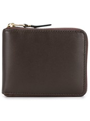 Comme Des Garcons Wallet Sa7100 Classic Leather Line Wallet Brown