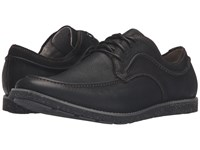 Hush Puppies Hade Jester Black Leather Men's Lace Up Casual Shoes