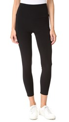 Norma Kamali Crop Leggings Black