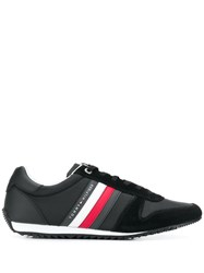 Tommy Hilfiger Side Stripe Sneakers Black