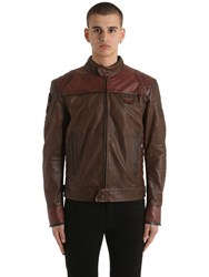 Matchless London Model X Reloaded Leather Jacket Brown