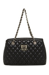 Love Moschino Trapuntata Quilted Handbag Black