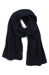 Ted Baker London Cable Knit Scarf Navy