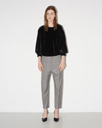 Etoile Isabel Marant Noah Cropped Trousers Grey