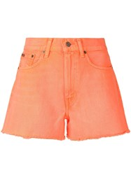 Polo Ralph Lauren Frayed Edge Shorts Orange