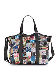 Le Sport Sac Small Print Carryall Tote Lepatch