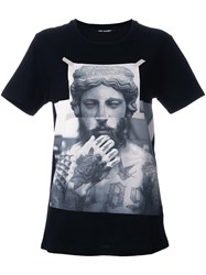 Neil Barrett Photo Print T Shirt Black