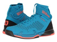 Wilson Amplifeel Methyl Blue Black Fiery Coral Men's Tennis Shoes