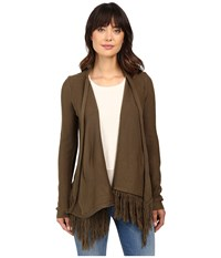 Brigitte Bailey Pippa Cardigan Sweater Olive Women's Sweater