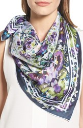 Ted Baker Women's London Elodie Enchantment Square Silk Scarf