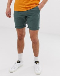 Selected Homme Linen Shorts In Green