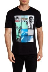 Kid Dangerous Beach Babe Short Sleeve Front Graphic Tee Black
