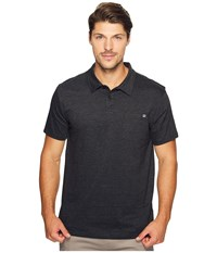 Billabong Standard Issue Polo Shirt Black Heather Men's Clothing
