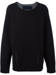 Juun.J Scoop Neck Jumper Black