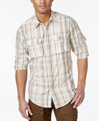 Sean John Plaid Flight Shirt