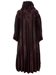 Issey Miyake Vintage Oversized Dress Brown
