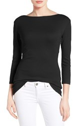 Caslonr Women's Caslon Three Quarter Sleeve Tee