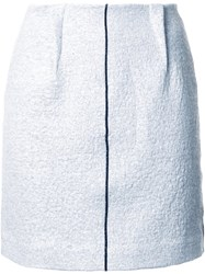 Le Ciel Bleu Fleece Skirt Grey