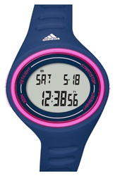 Adidas 'Adizero Basic Mid' Digital Watch 38Mm Blue Pink