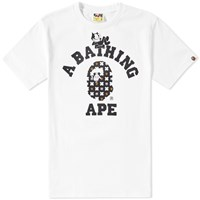 A Bathing Ape X Felix The Cat 7 Tee White