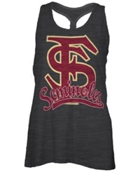 Royce Apparel Inc Women's Florida State Seminoles Sim Melange Tank Top Black