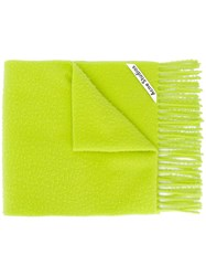 Acne Studios Pilled Textured Scarf 60