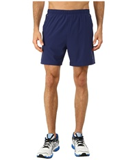 Asics 2 N 1 Woven Short 6 Indigo Blue Men's Shorts