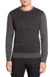 Men's Boss 'Fabrizio' Slim Fit Cotton And Cashmere Crewneck Sweater