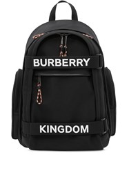 Burberry Nevis Logo Printed Backpack 60