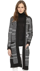 Just Female Fola Knit Cardigan Black