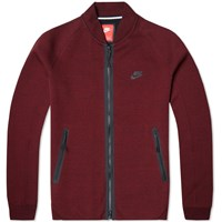 Nike Tech Varsity Jacket 1Mm Team Red And Black