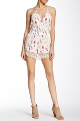 Lucy Love Lacy Romper White