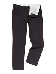 Linea Navier 5 Pocket Cotton Trousers Charcoal
