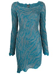 Just Cavalli Asymmetric Fitted Knit Dress 60