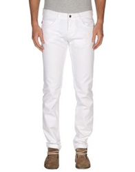 Ice Iceberg Denim Pants White