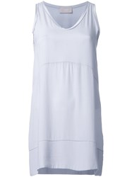 Drumohr Longline Tank Top Grey