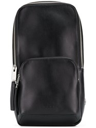 Alyx Cross Strap Small Backpack Black