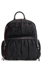 M Z Wallace Mz Madelyn Bedford Nylon Backpack Black